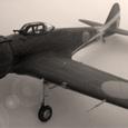 中島キ-43 一式戦闘機Ⅰ型 隼[OSCAR]